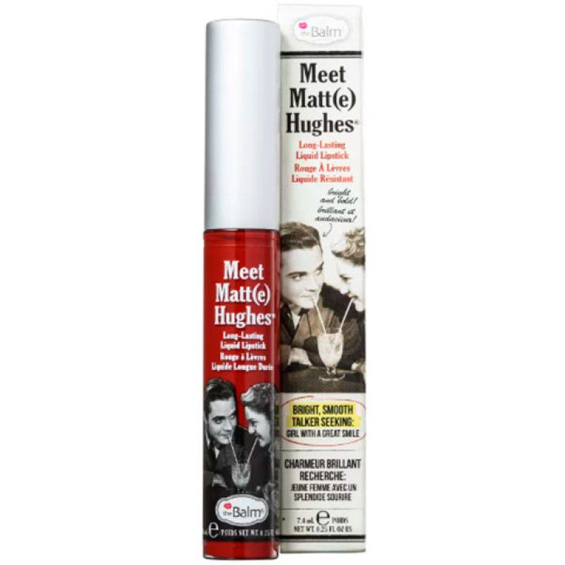 The Balm Batom Líquido Matte Hughes Loyal 7,4ml