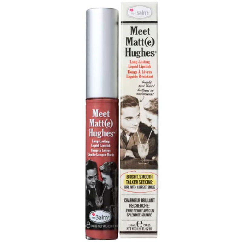 The Balm Batom Líquido Matte Hughes Sincere 7,4ml