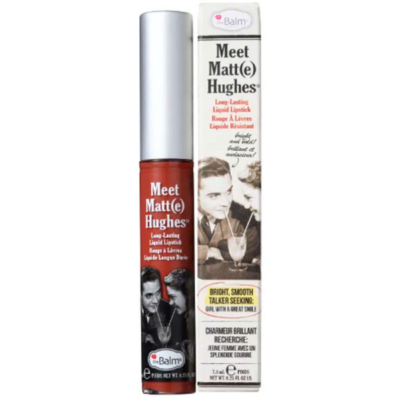 The Balm Batom Líquido Matte Hughes Trustworthy 7,4ml