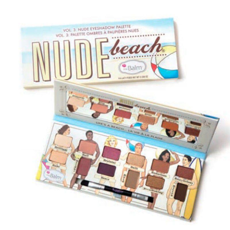 The Balm Nude Beach Paleta de Sombras 9,6g