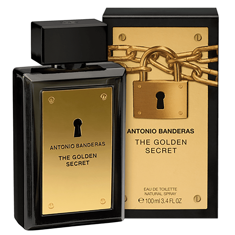 The Golden Secret Antonio Banderas Eau de Toilette - Perfume Masculino 100ml