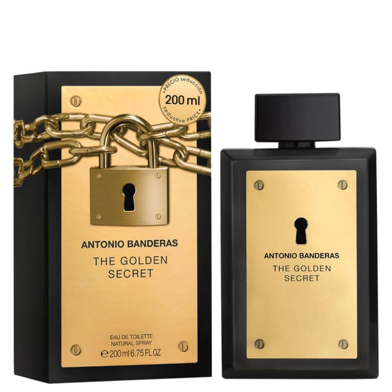 The Golden Secret Antonio Banderas Eau de Toilette - Perfume Masculino 200ml