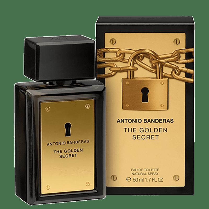 The Golden Secret Antonio Banderas Eau de Toilette - Perfume Masculino 50ml