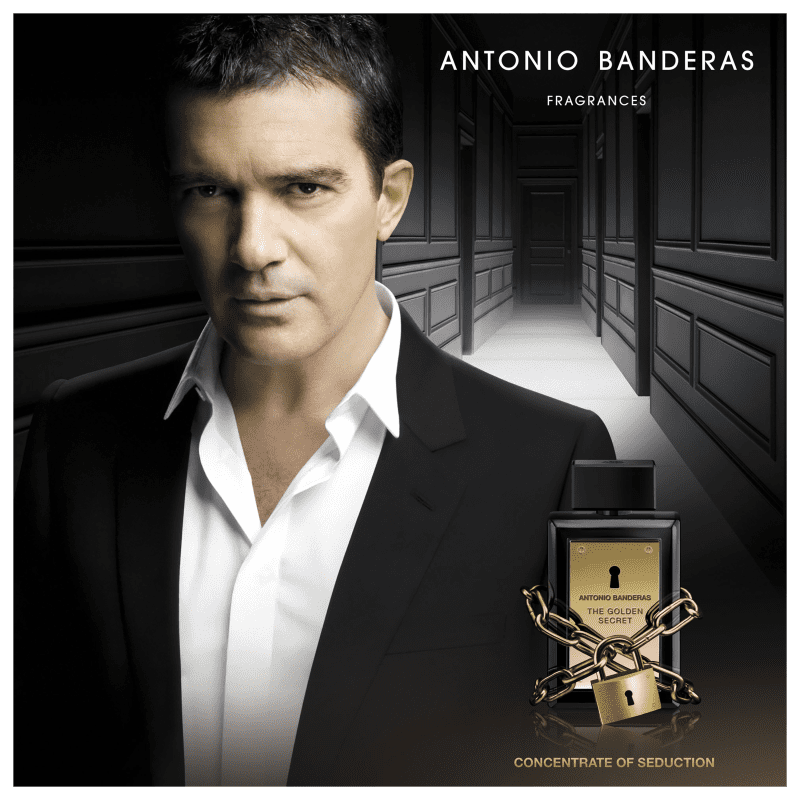 The Golden Secret Antonio Banderas Eau de Toilette - Perfume Masculino 50ml