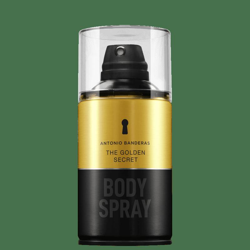 The Golden Secret Body Spray Antonio Banderas - Perfume para o Corpo 250ml
