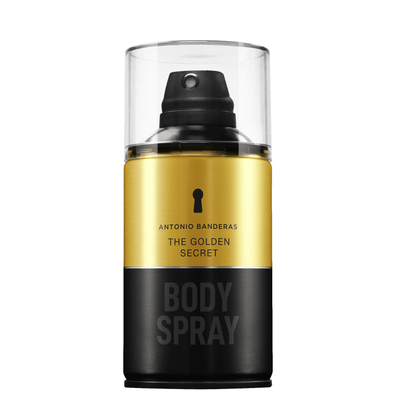 The Golden Secret Body Spray Antonio Banderas - Perfume para o Corpo 250ml