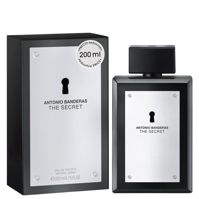 The Secret Antonio Banderas Eau de Toilette - Perfume Masculino 200ml