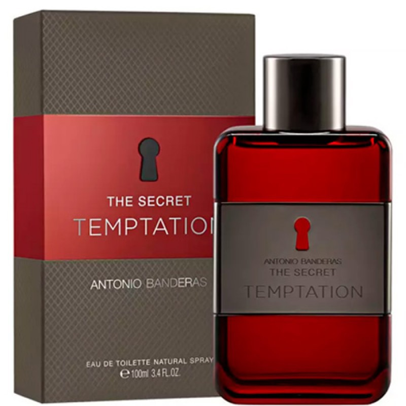 The Secret Temptation Antonio Banderas Eau de Toilette - Perfume Masculino 100ml