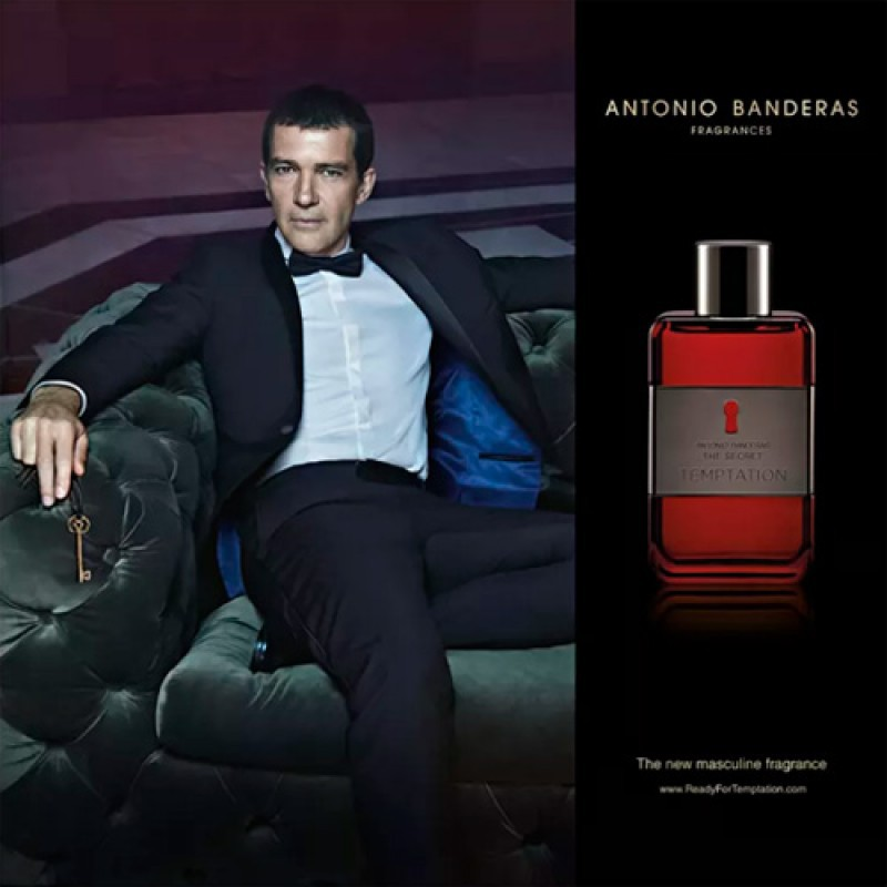 The Secret Temptation Antonio Banderas Eau de Toilette - Perfume Masculino 50ml