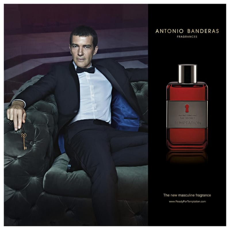 The Secret Temptation Antonio Banderas Eau de Toilette - Perfume Masculino 50ml