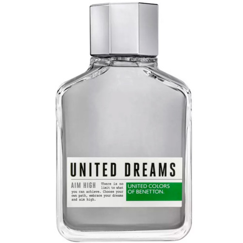 United Dreams Aim High Benetton Eau de Toilette - Perfume Masculino 200ml