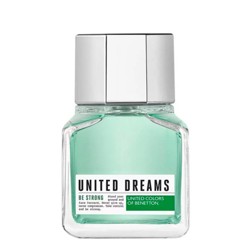 United Dreams Be Strong Benetton Eau de Toilette - Perfume Masculino 60ml