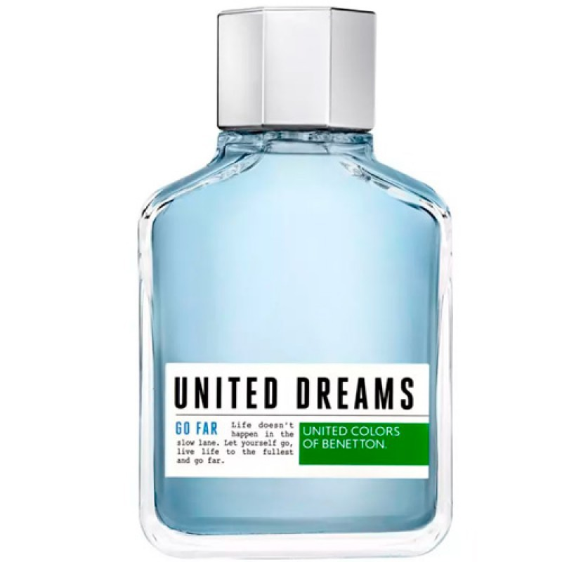 United Dreams Go Far Benetton Eau de Toilette - Perfume Masculino 200ml