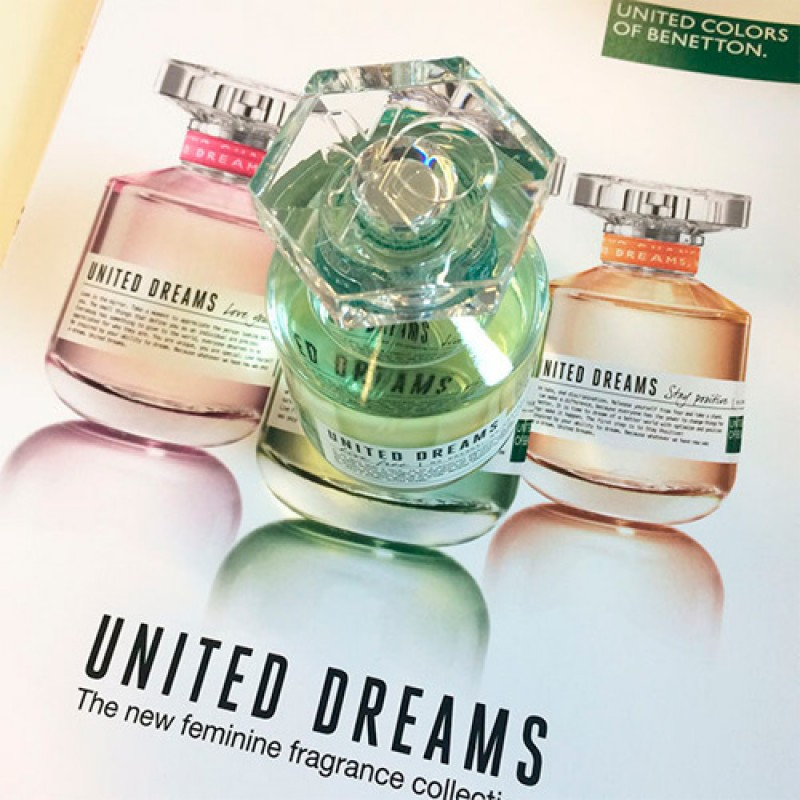 United Dreams Live Free Benetton Eau de Toilette - Perfume Feminino 50ml