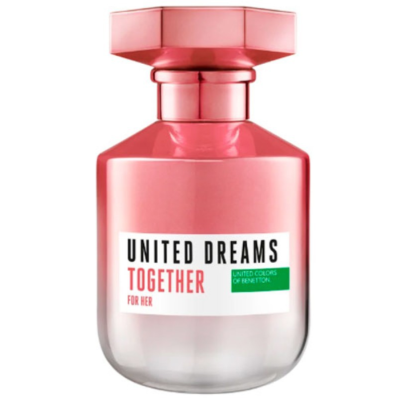 United Dreams Together For Her Benetton Eau de Toilette - Perfume Feminino 50ml