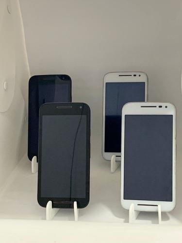 Lote 04 Smartphones Seminovos | Moto G3 | 16gb | C/ Garantia