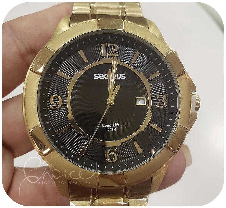 Relógio Seculus 20755GPSVDA2