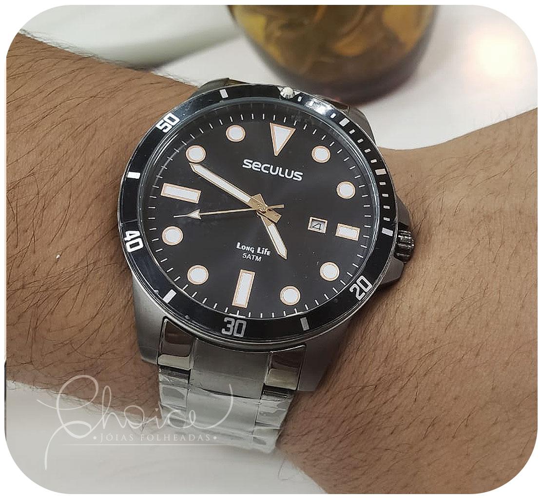 Relógio Seculus 20789GPSVSA3