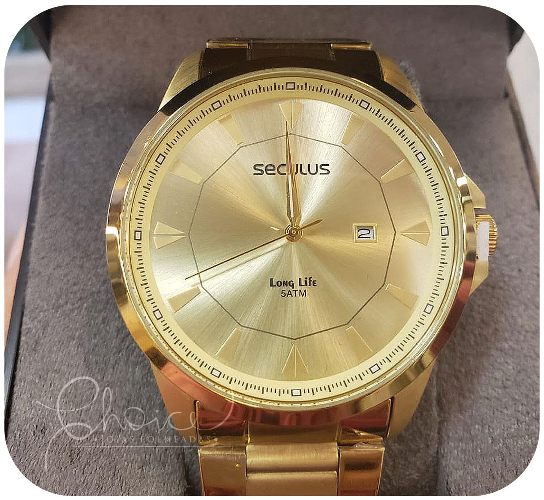 Relógio Seculus 20805GPSVDA1