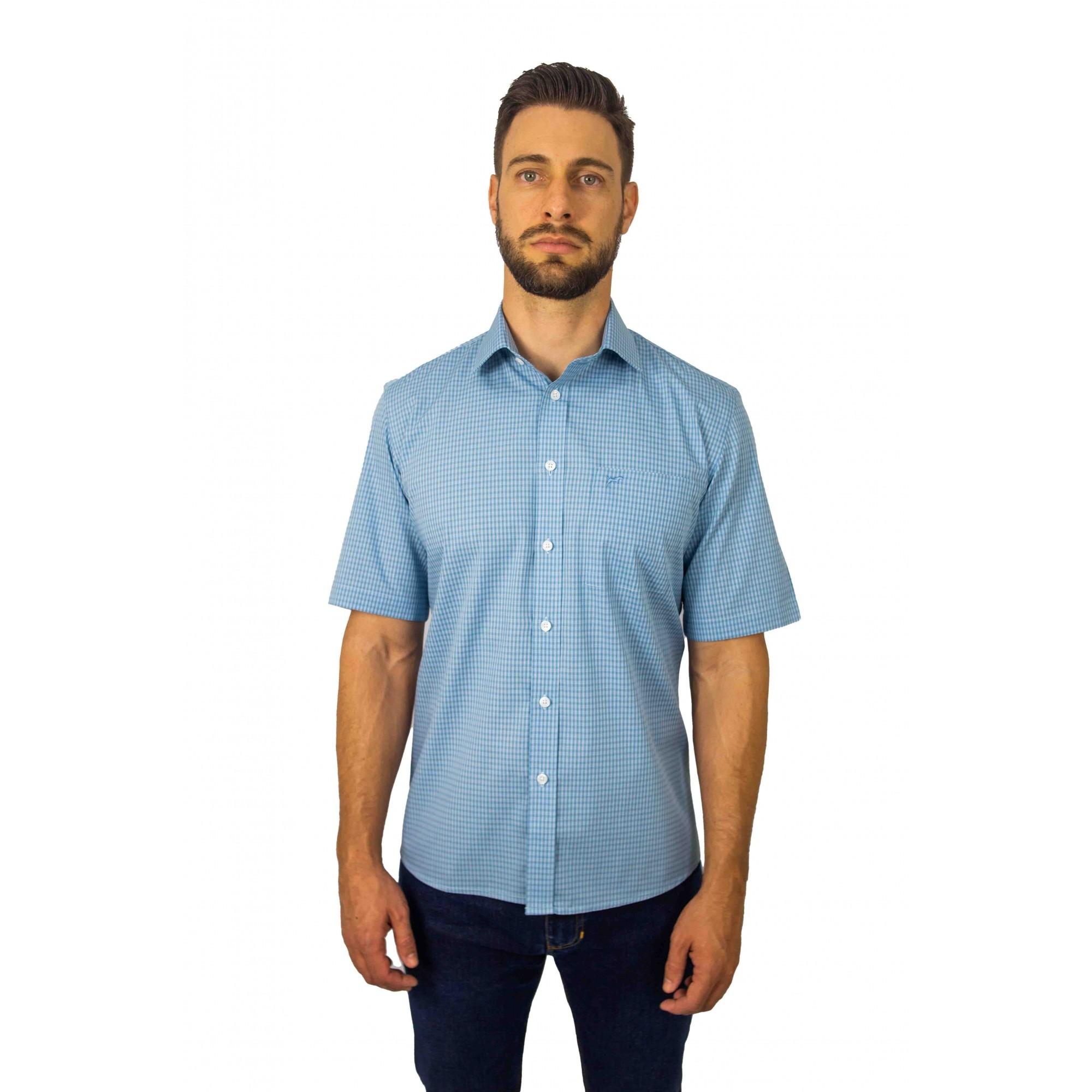 Camisa Manga Curta Comfort Fit