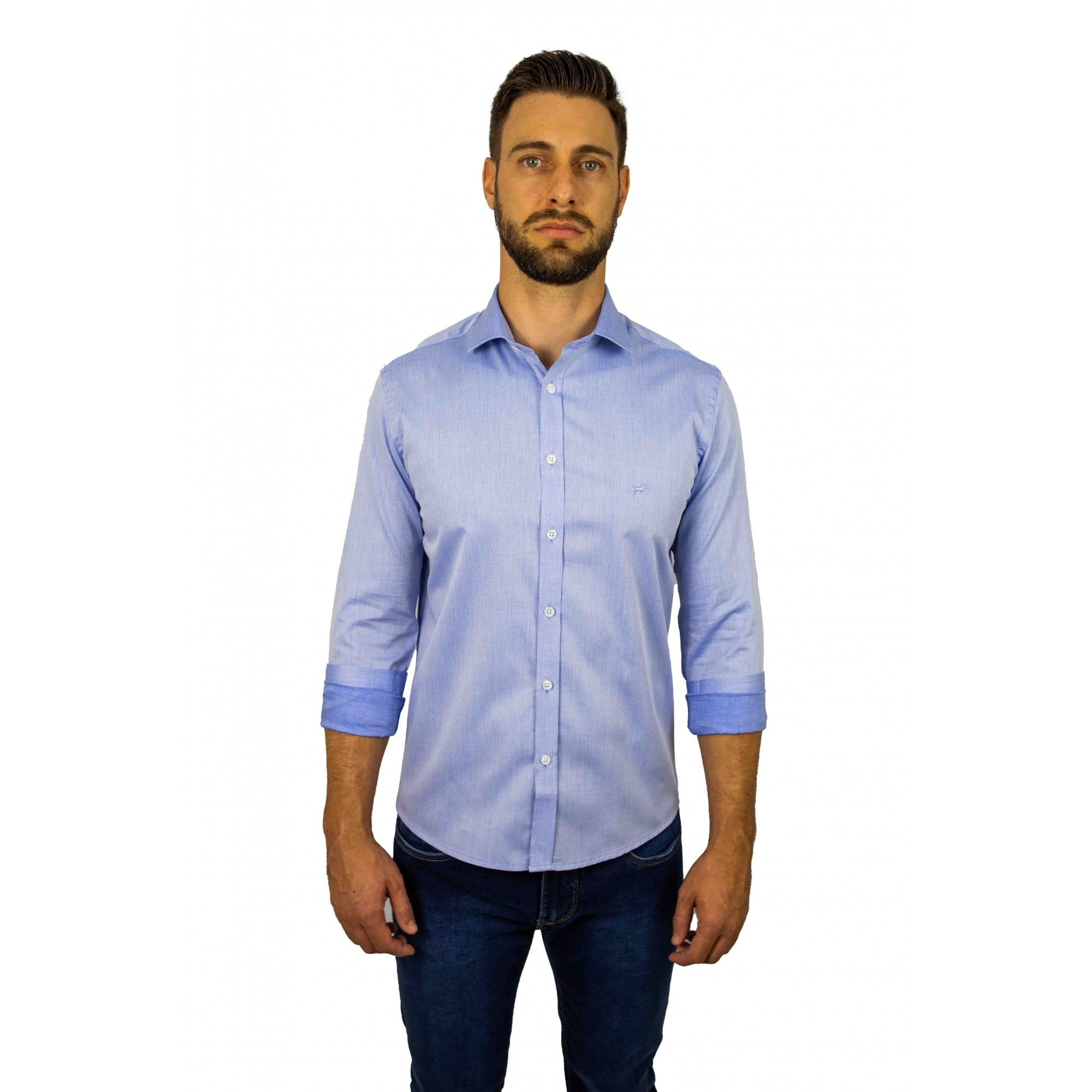 Camisa Slim Fit M/L