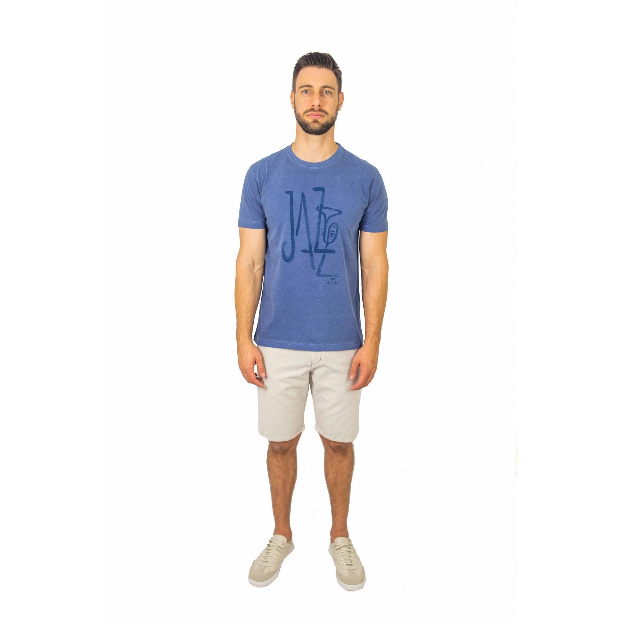 Camiseta Careca Estampada