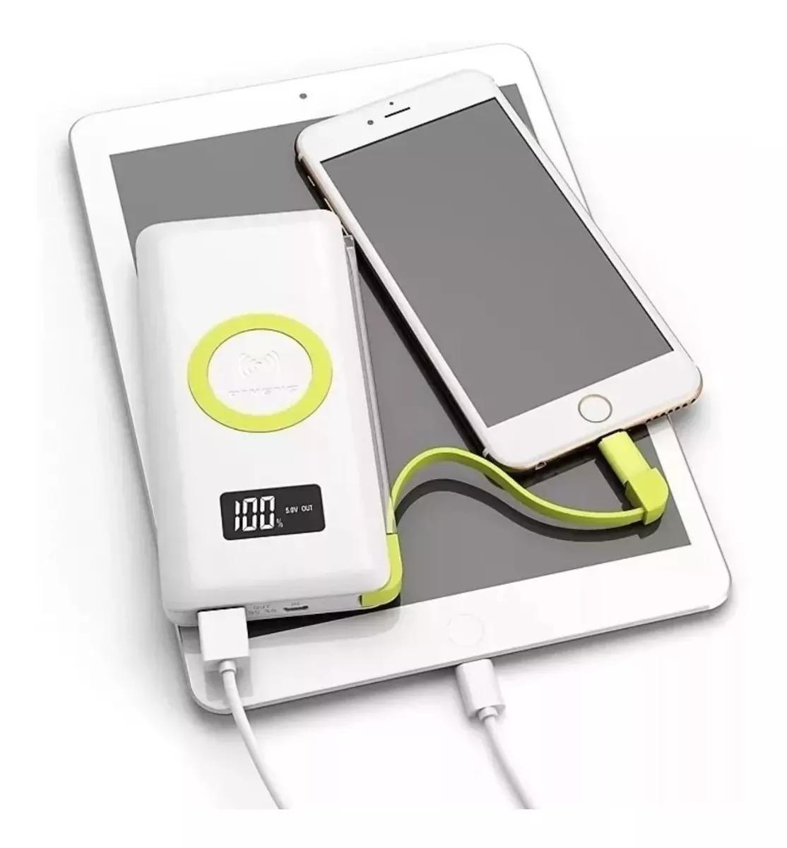 Bateria Externa Pineng 10.000mha Wireless