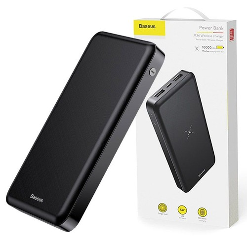 Bateria Externa Wireless 10.000mha Baseus