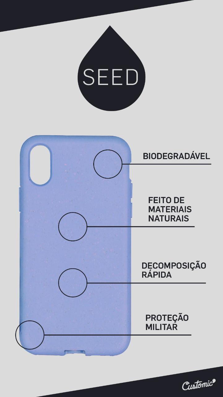 Capa Biodegradável Customic Seed Eco Case