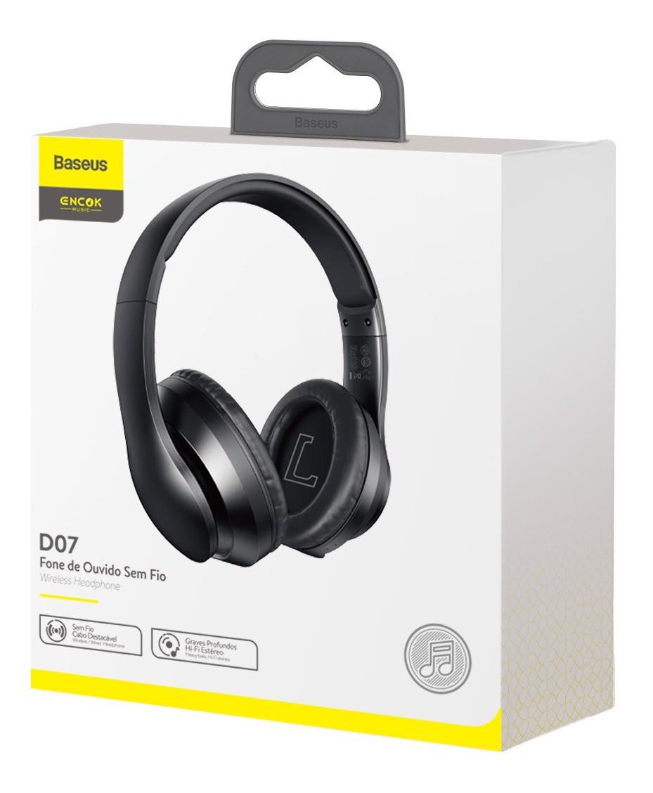 Headphone Baseus Encok D07