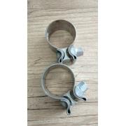 Abraçadeiras de Fixação de Ponteiras - HD Sportster/Dyna/Softail/Touring - Par - 004/55441