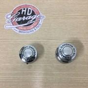 Acabamento do Eixo Traseiro - Cromado - HD Motor Co. - Softail/Touring - Par - 012/38207