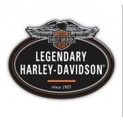 Adesivo Resinado Legendary Harley-Davidson - 12x9 cm - STHD0004RP