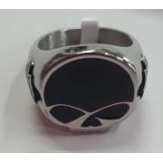 Anel em Aço Inoxidável - Motivo HD Skull - 022/55506