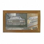 Azulejo Decorado Emoldurado - Motivo Moto - 68x40 - 034/46109