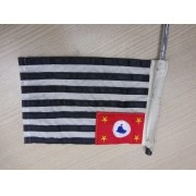 Bandeira do Estado de SP para Espada com Suporte para Fixação - HD Multifit - 012/05900
