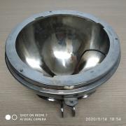 Bojo do Farol Principal Cromado - 8 Polegadas - 001/70865