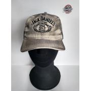 Boné Creme Efeito Engraxado - Motivo Jack Daniels - 024/67506