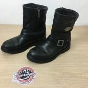 Bota De Couro Masc - Cano Médio - Harley-Davidson - Preta - Tam 42 - 021/42100