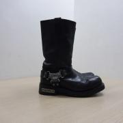 Bota De Couro Masc - Cano Médio - Harley-Davidson - Preta - Tam 42 - 021/83508