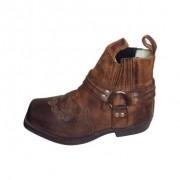 Bota Feminina Couro Cano Curto - Paraíso Boots - Tam 38 - Marrom - 038/62765