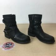Bota Feminina em Couro - Harley-Davidson - Cano Médio - Preta - Tam 39 - 038/63404