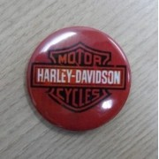 Botton Decorativo em Metal - Motivo Harley- Davidson 03 - 022/77008
