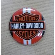 Botton Decorativo em Metal - Motivo Harley- Davidson 07 - 022/08004