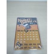 Calendário em Metal Imantado - Motivo Harley-Davidson 01 - 034/34281