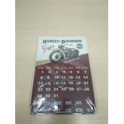 Calendário em Metal Imantado - Motivo Harley-Davidson 04 - 034/88007
