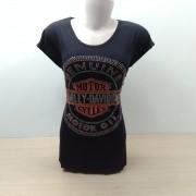 Camiseta Fem Longuete - Motivo Genuine Strass - 040/91445