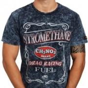 Camiseta Masc Azul Estonada - Nitromethane - 2pw17 - 026/72504