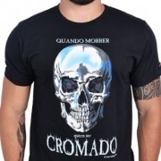 Camiseta Masc Preta - Cromado - 14411 - 026/58605