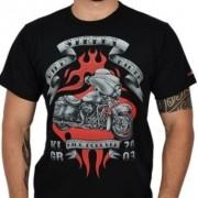 Camiseta Masc Preta - Wild Street Rider - 50611 - 026/98405